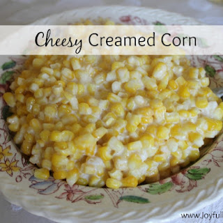 Cheesy Creamed Corn.