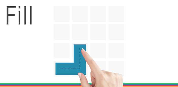 Fill - one-line puzzle game