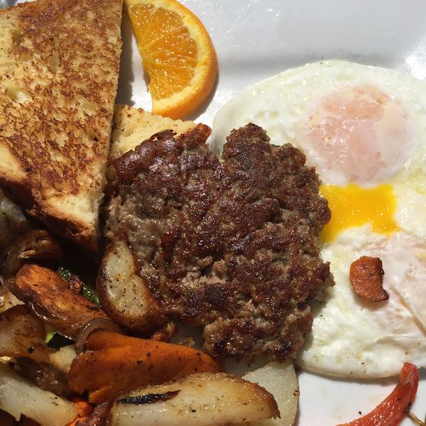 GF breakfast, fantastic!