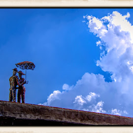 building top, oaxaca, mexico by Jim Knoch - Artistic Objects Still Life