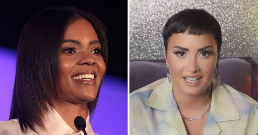 Candace Owen Said Demi Lovato Adopting The Nonbinary 'They/Them' Pronouns Is 'Poor Grammar' [Photo]