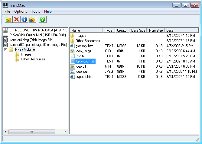 Acute Systems TransMac 12.6 - Software Updates - nsane.forums