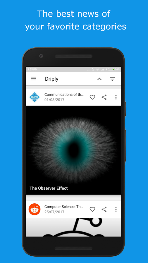 Driply - News- screenshot