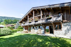 A Tiny Hamlet in the French Alps of Demi-Quartier in megeve