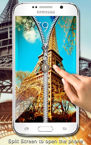 玩工具App|巴黎拉链锁屏免費|APP試玩