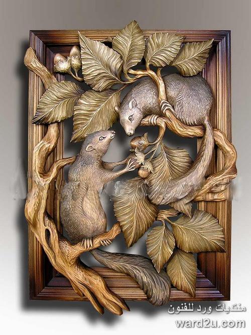 منحوتات خشبية روائع الفنان Nosikov Petro