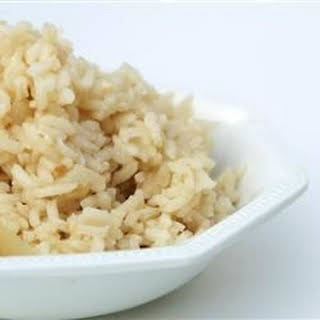 Brazilian White Rice.