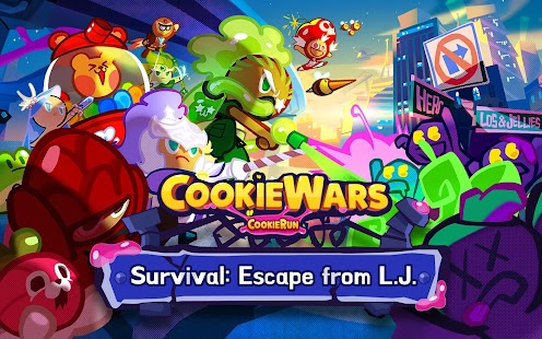 Cookie Wars Screenshot