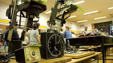 Photo: Pettisville School photo lab equipment