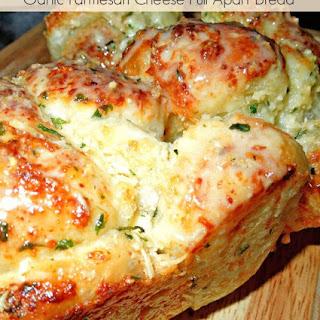 Garlic-Parmesan Cheese Pull Apart Bread [Using Rhodes Frozen Yeast Rolls].