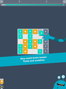 Cruncher - Number Brain Teaser- screenshot thumbnail