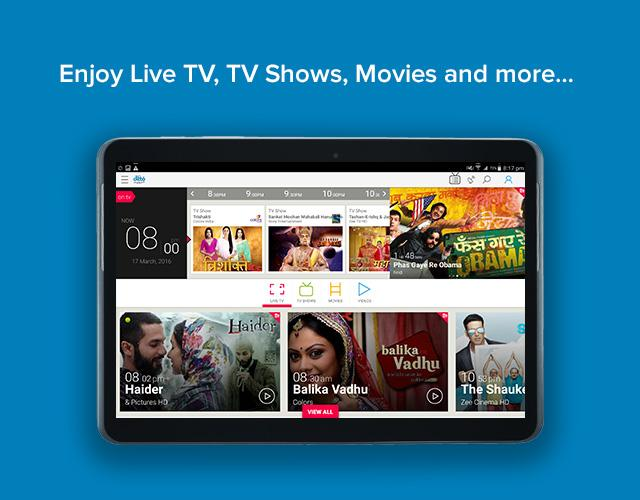 android tv app watch live shows news.