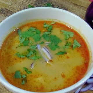 Coconut Curry Noodle Soup.