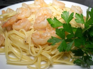 Microwave Shrimp Scampi For Two Recipe