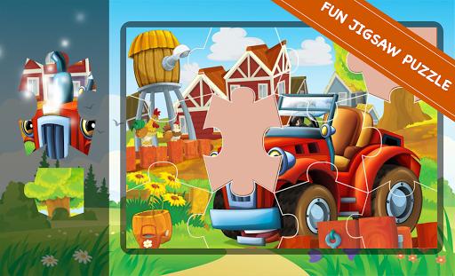 Cartoon Jigsaw & Tile Puzzle screenshots 3