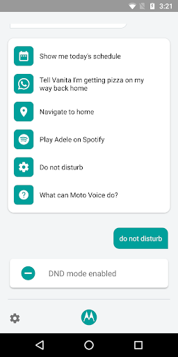 Moto Voice BETA - screenshot