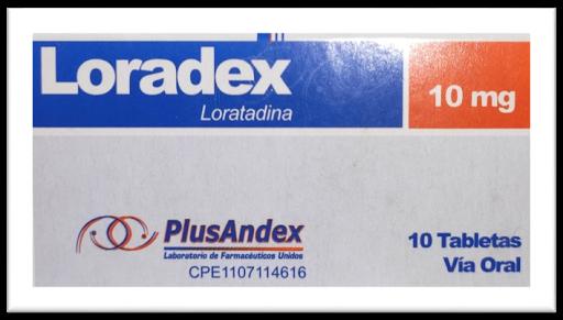 loratadina loradex 10mg 10 tab plusandex PlusAndex