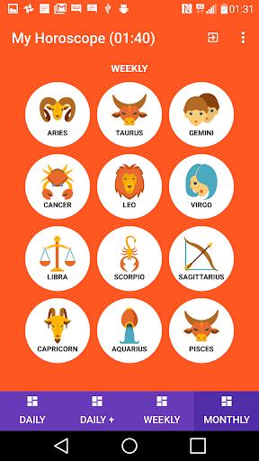 Horoscope mApp 6.1 screenshots 2