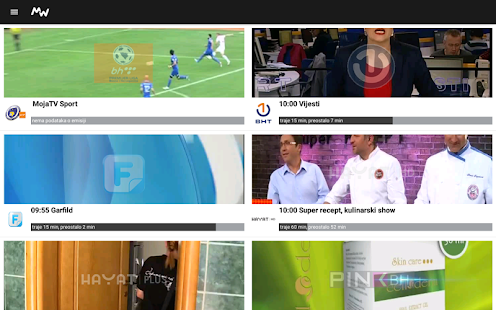 Moja webTV- screenshot thumbnail