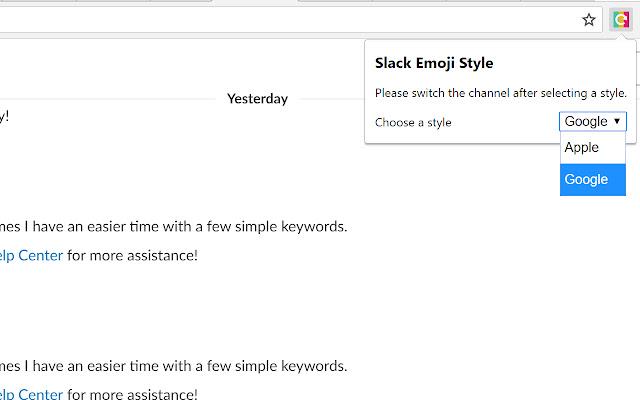 Slack Emoji Switcher