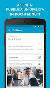 Cornerjob offerte di lavoro e recruiting app android for Subito offerte di lavoro milano