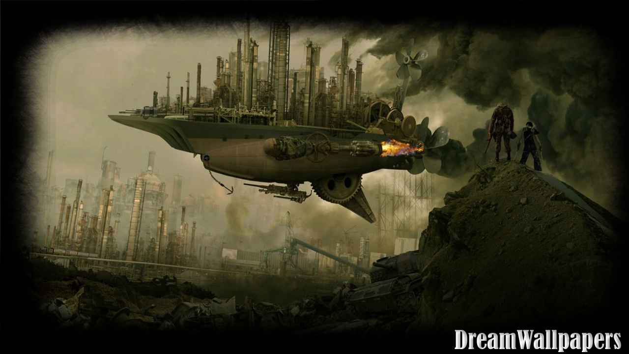 steampunk action wallpapers - photo #20