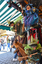 Photo: Prague street market