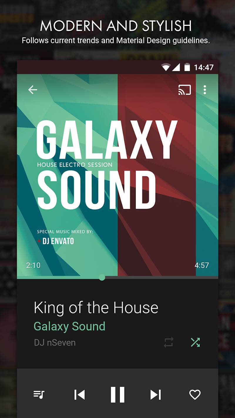 n7player Music Player Screenshot 1