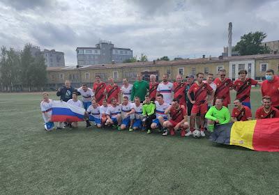 Défaite belge face aux Russes ... dans le match des supporters !
