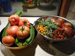 Photo: garden bounty