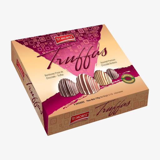 chocolate st mortiz truffas 8 bombones