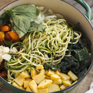 Summer's Harvest Farmers Market One-Pot Zucchini Pasta