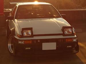 スプリンタートレノ AE86 昭和59年式GT-APEXのカスタム事例画像 おしーんさんの2021年01月02日18:34の投稿
