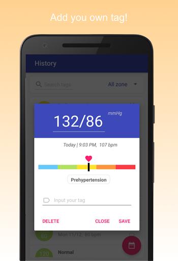 Blood Pressure Diary screenshot 4