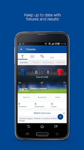 Fan App for Chelsea FC