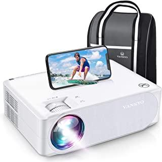 VANKYO Performance V630W 7600LUX Native 1080P Latest 5G Wifi Projector, ±50° 4D Electronic Keystone Correction, 7600LUX wi...