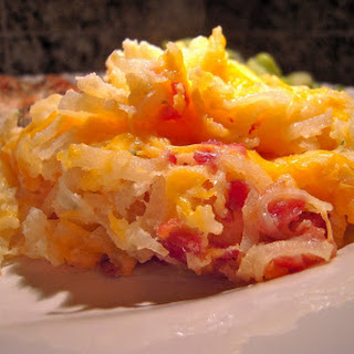 Cheesy Ranch Hash-Brown Potatoes.