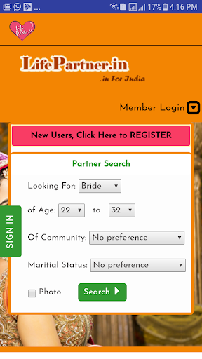 LifePartner in Matrimony App by Life Partner India