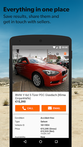 mobile.de – vehicle market for PC