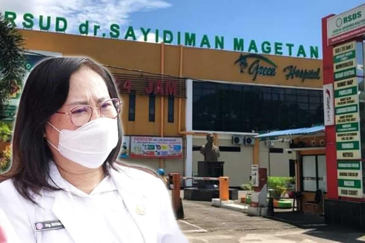 Bupati Tunjuk Drg. Ratnawati Sebagai Plt Direktur RSUD dr. Sayidiman Magetan