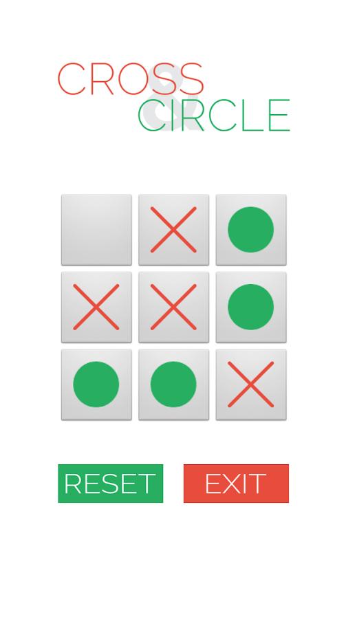 Cross and Circle- screenshot