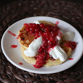 Red Currant and Lemon Pancakes