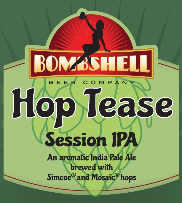 Logo of Bombshell Hop Tease Session IPA