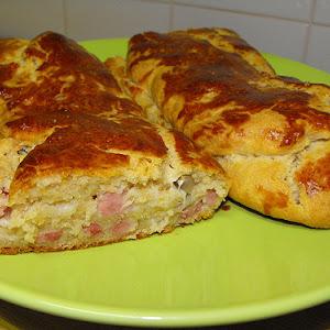 Savory Stuffed Bread
