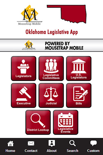 Oklahoma Legislative App