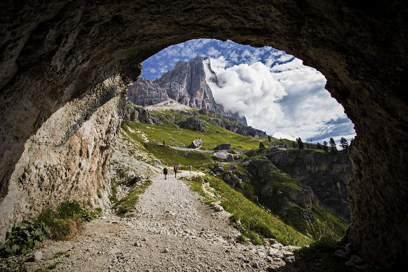Tofana dal tunnel di Sebastiano Pieri