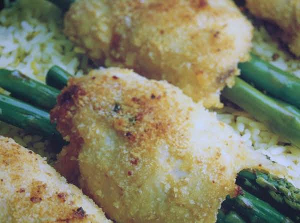 Chicken Breasts Stuffed With Asparagus Recipe
