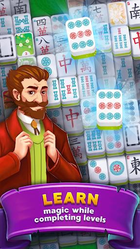 Mahjong: Magic School - Fantasy Quest 3.1 screenshots 1