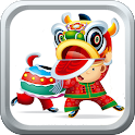 Chinese New Year Greeting Card icon