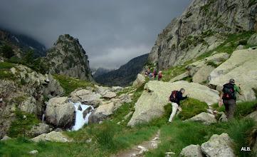 Photo: Buscando la senda.